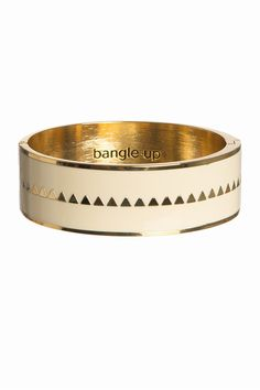 Bangle Up Bangle Up, Armbånd, Bollystud cream