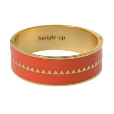 Bangle Up Bangle Up Armbånd Orange