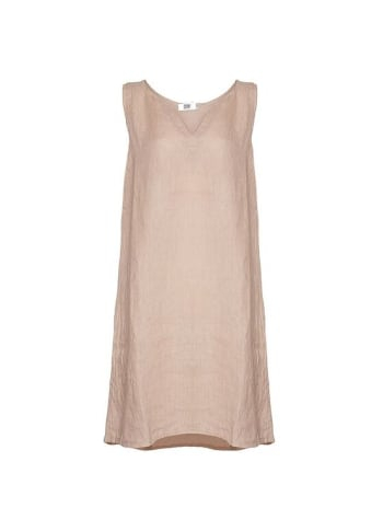 Image of   Tiffany 17705 Dress Linen Wo/sleeve, Rose