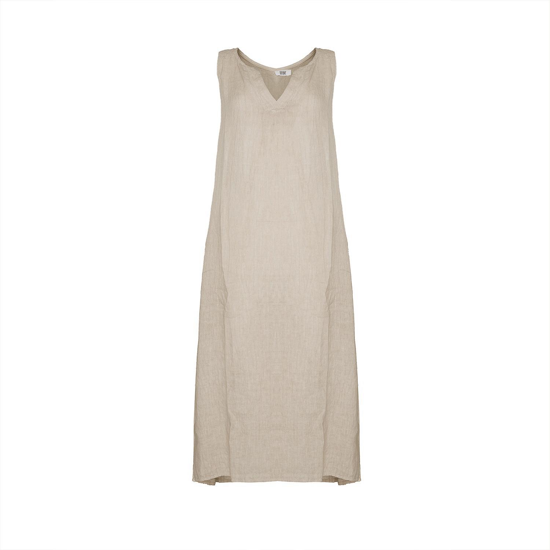 Image of   Tiffany 181037 Long Tank Dress, Beige