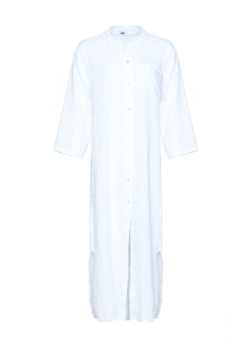 Image of   Tiffany 181015 Linen Shirt/dress, White