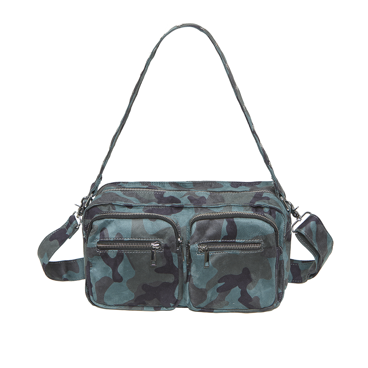 Image of   Noella Caja Cross Over Bag, Army Camouflage