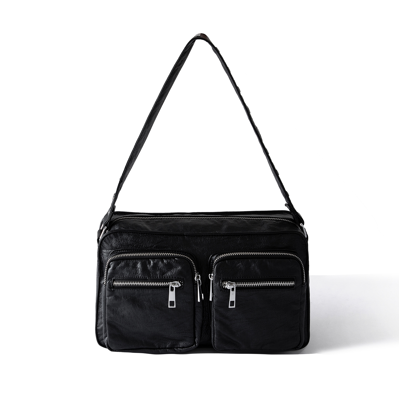 Image of   Noella Caja Bag Washed Leather look, Black