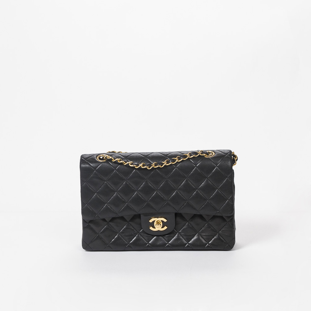CHANEL Classic Double Flap Aal0068, Black