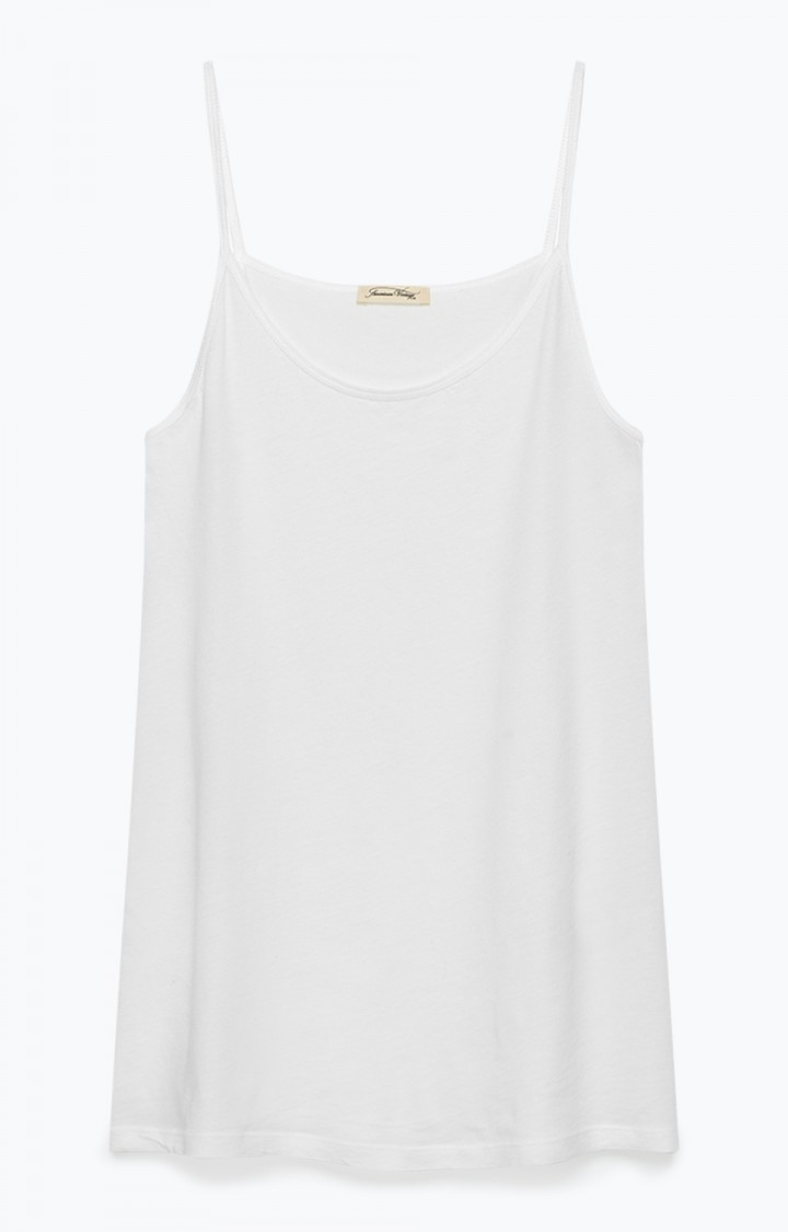 Image of   American Vintage Tank Top, CHIP10 Blanc