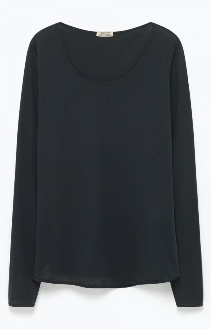 Billede af American Vintage Langærmet tynd trøje, Carbone CHIP12H18