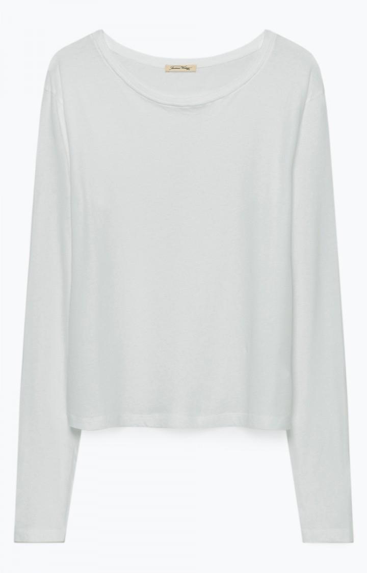 Image of   American Vintage Chip13 Tee-shirt Ml Col Rond, Blanc