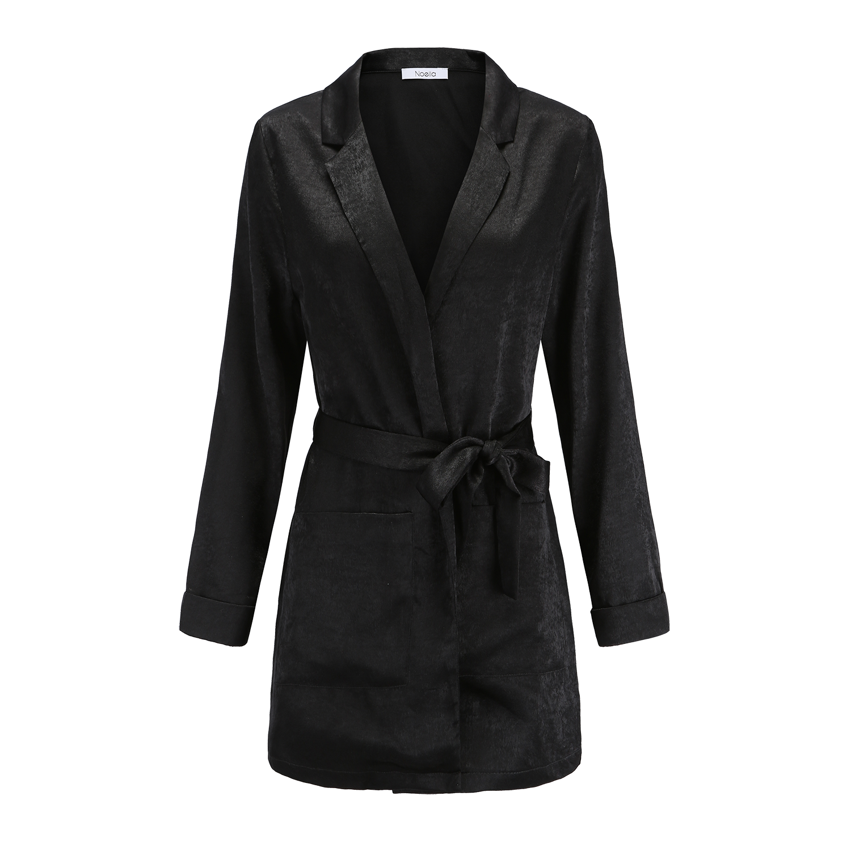 Image of   Noella Noella Chugiak Kimono Black