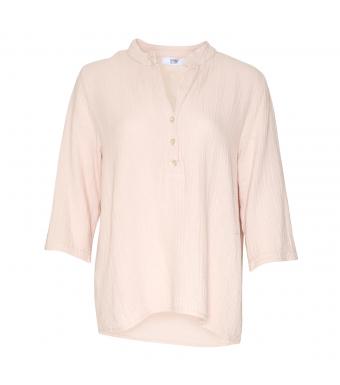 Tiffany Bomuldsskjorte Rose Forfra