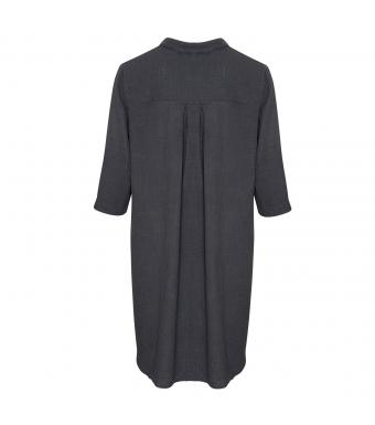 Tiffany 17690 Long Shirt Double Cotton, Dark Grey