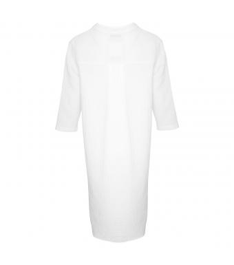 Tiffany 17690 Long Shirt Double Cotton, White
