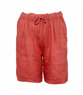 Tiffany 181017 Shorts Linen, Dusty Pink