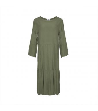 Forside af grøn kjole fra Tiffany