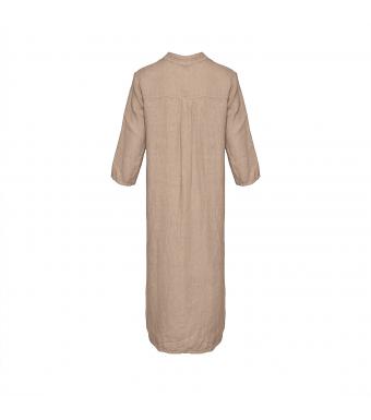 Tiffany 18970 Shirt Dress Linen, Beige