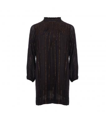 Noella Koko Dress Lurex Stripes