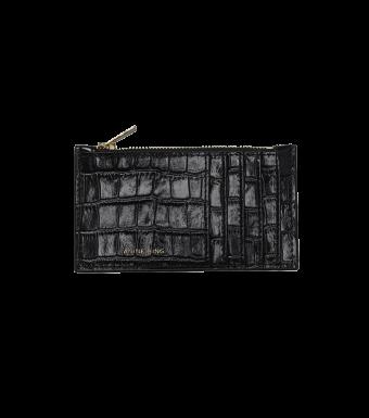 Anine Bing Luca Cardholder A-13-4069, Black
