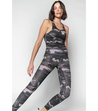 Ragdoll La Workout Leggins, Camo Army