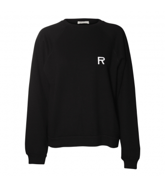 Ragdoll Oversized Sweatshirt, Black