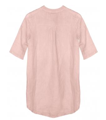 Tiffany 17690 Mini Long Shirt Linen, Rose