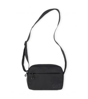 Ganni A3431 Festival Bag Recycled Tech Fabric Bags, 099 Black