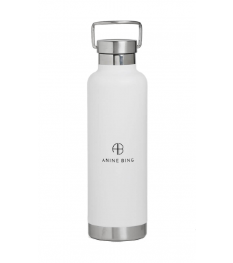 Anine Bing Pia Water Bottle S-12-9079, White