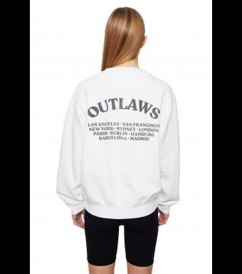 Anine Bing Ramona Sweat Outlaw A-08-5055-149b, White