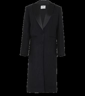Anine Bing Selena Coat A-01-4094, Black