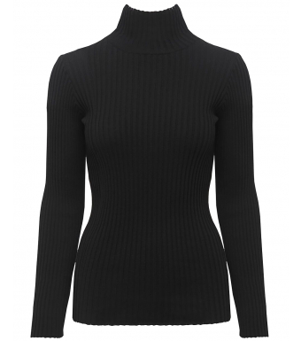Anine Bing Clare Top A-08-4159, Black