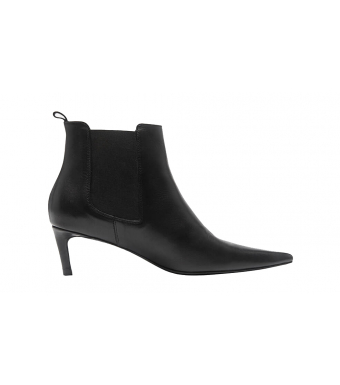 Anine Bing Stevie Boots A-14-1002, Black Leather