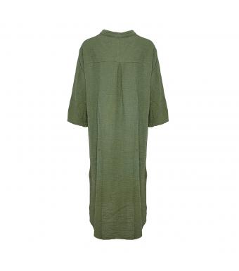 Tiffany 18970 Shirt Dress Double Cotton, Army