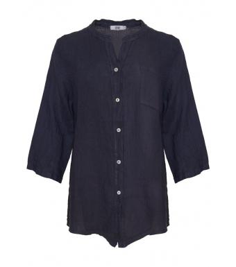 Tiffany 18973 Shirt Linen, Blue Navy