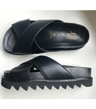 Detaljer af sko