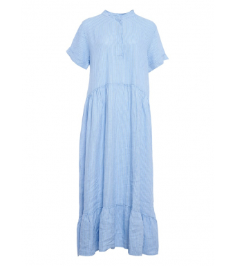 Tiffany Hørkjole 191613 Hvid/Little Boy Blue