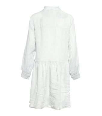 Tiffany By3276 Dress Linen, Pearl Grey