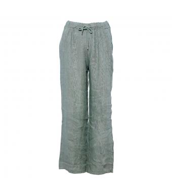 Tiffany 18870 Linen Pants, Army
