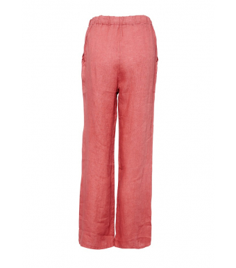 Tiffany 18870 Linen Pants, Dusty Pink