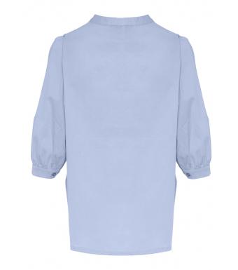 Tiffany Ebbi Shirt Cotton Poplin 00320, Light Blue