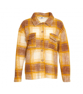 Tiffany By3278 Jacket Wool, Yellow/brown