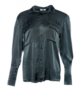 Tiffany 191587 Elva Shirt Viskose Satin, Dark Grey