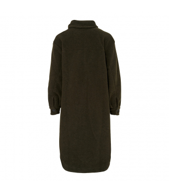 Tiffany Valley Long Coat Wool, Army