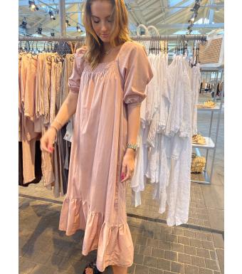 Tiffany Bella Dress Cotton Poplin, Rose