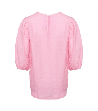 Tiffany Clara Blouse Linen, Sweet Lilac
