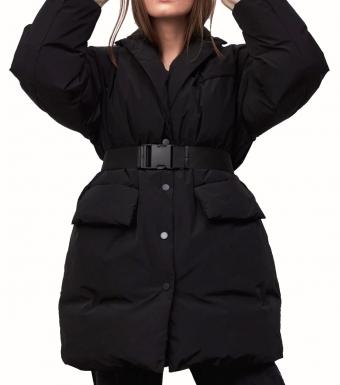 Meotine Shaya Down Jacket, Black