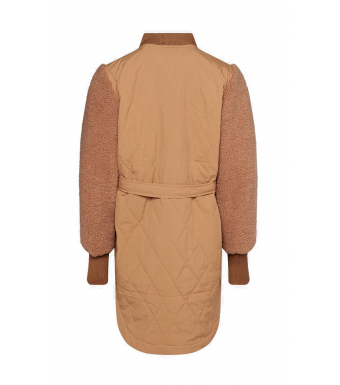 Noella Esme Pile Jacket Solid, Camel