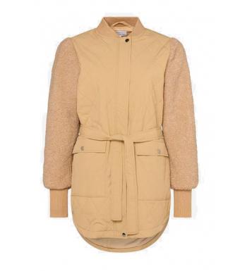 Noella Esme Pile Jacket Solid, Sand