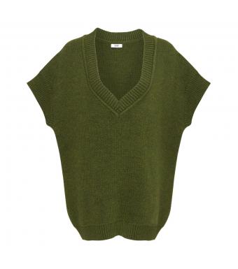Tiffany Zenia Slipover Knit, Army