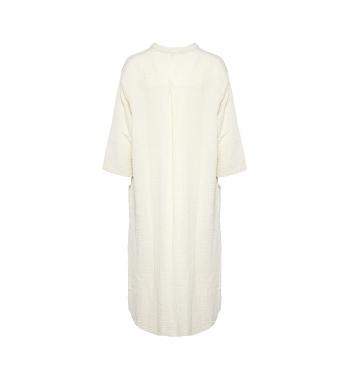 Tiffany 18970 Shirt Dress Double Cotton, Sabbia