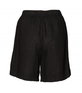 Tiffany Tracy Shorts Linen, Black