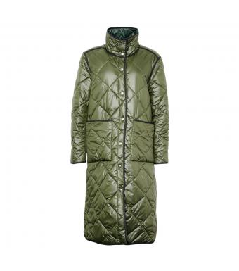 Tiffany Zita Long Coat, Army