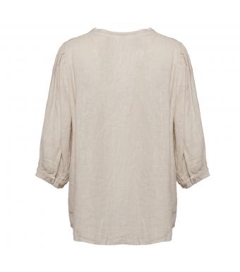 Tiffany Ebbi Top Linen, Light Beige